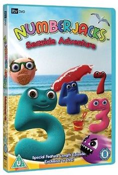 #Numberjacks: #seaside adventure #[region 2] - dvd - new - free shipping.,  View more on the LINK: http://www.zeppy.io/product/gb/2/162062289157/