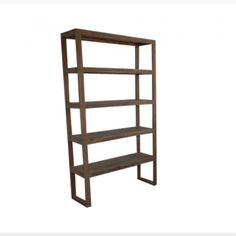 Wooden shelves in rosewood timber