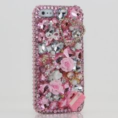iphone 5 Luxury 3D Swarovski Crystal Diamond Heart Baby Pink Purse Design Bling Case Cover (100% Handcrafted by BlingAngels) by BlingAngels. $75.00. Unique Design & Superb Quality that you will NOT find elsewhere! GUARANTEED! Materials: Mix of 100% Authentic Swarovski Crystals + High quality *Bling* Australian Crystals + Special Made Accessories / Decors 100% Handmade: THIS ITEM IS 100% CUSTOM HANDMADE BY A PRO ARTIST WITH 5+ HOURS OF WORK! NOT made by Home DIY Amateur...