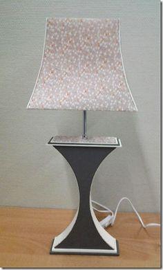 La boite à C: DE NOUVEAUX PIEDS DE LAMPE