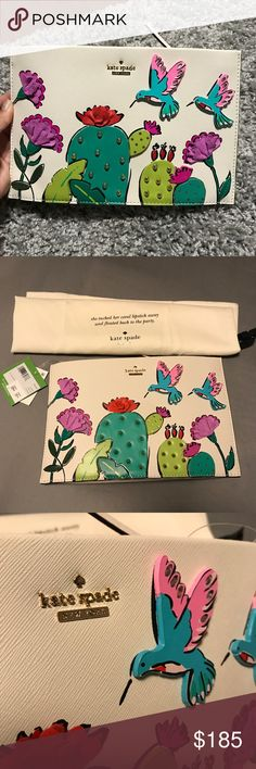 "Kate Spade ""Brand New"" Summer Fun Purse Kate Spade - Brand new purse. Fun print will add character to your style!!! I love this purse!!! So cute!😊 kate spade Bags Crossbody Bags"