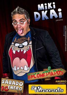 El Rinconcito  Noche de humor con Miki Dkai  Fecha: 10/01/15  Hora:   22:00