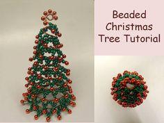 Beaded Christmas Tree Tutorial Christmas by FlorenHandicrafts, $6.00