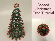 Beaded Christmas Tree Tutorial Christmas от FlorenHandicrafts