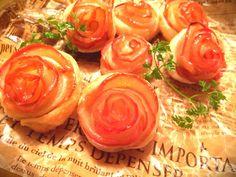 リンゴスイーツ史に残る名作!薔薇の形のアップルパイ! | クックパッド