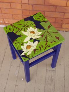 Upcycled Repainted Art Furniture