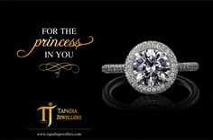 For the princess in YOU!  Luxury by appointment only. #TapadiaJewellers #DiamondRings #DiamondJewellery #CelebrateWithTJ #Diamonds #Holi