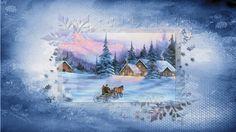 Fonds D'écrans Hivers - Créations Armony Creations, Painting, Art, Winter Wallpaper, How To Paint, Art Background, Painting Art, Kunst, Paintings