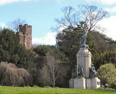 Rougemont Gardens, Exeter, Devon, England