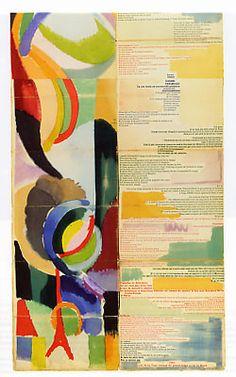 Sonia Delaunay, Illustration pour La prose du Transsibérien et la petite Jehanne de France