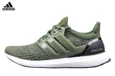 the latest 9473c 8f39e 2017 Men s Adidas Ultra Boost Running Shoes Army Green Black,Adidas-Ultra  Boost