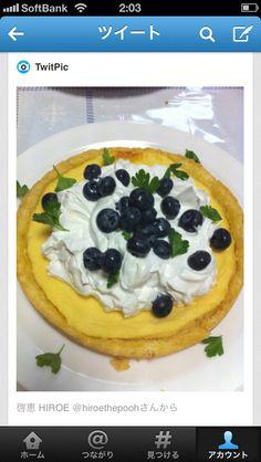lemmon cheese cake & garden blueberry