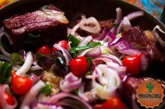 jabá acebolado, brazilian regional food, brazilian food, cozinha nordestina, comida nordestina, jabá