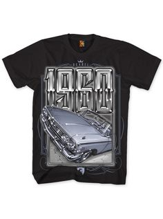 "Men's ""1960"" Tee by OG Abel (Black) #InkedShop #Abel #Black #Tshirt #1960"