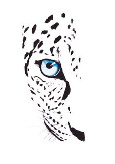 Buy Leopard in the Snow, Watercolours by Katie Jackson on Artfinder. Discover thousands of other original paintings, prints, sculptures and photography from independent artists. Pencil Art Drawings, Animal Drawings, Leopard Tattoos, Snow Leopard Tattoo, Cheetah Drawing, Desenho Tattoo, Animal Paintings, New Art, Henna
