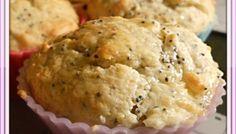 Muffin aux Citrons - Graines de Pavot