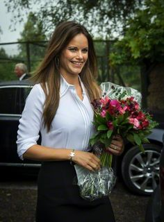 Princess Sofia of Sweden, Duchess of Värmland, visits Värmland in the western part of central Sweden, August 26 2015