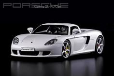 Porsche Carrera GT - AUTOart 1/18 White by David.T Photography, via Flickr