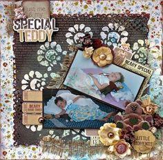 Teddy Bear's Picnic LO - Special Teddy rs