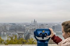 View Point @ the Buda Castle in Budapest