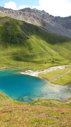 Glacial Lake, Arosa, Switzerland -- by Argitalhk