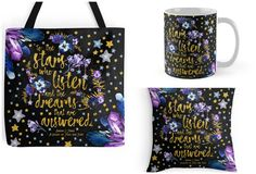 With Love for Books: Sarah J. Maas Quote Tote Bag, Pillow and Mug Givea...