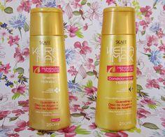 Resenha: Shampoo e Condicionador Keramax Hidratação Profunda - Skafe
