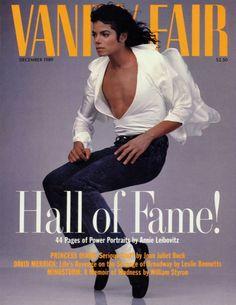 Vanity Fair: Michael Jackson, December 1989