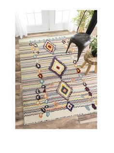 nuLOOM Moroccan Motely Rug at MYHABIT