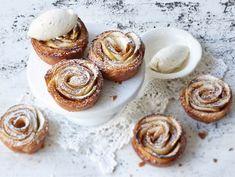 Kaneli-omenakierteet 20 Min, Doughnut, Panna Cotta, Muffin, Breakfast, Ethnic Recipes, Desserts, Food, Christmas