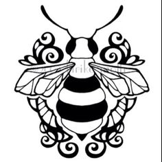 Bee design. I must incorporate this into the design, somewhere.