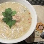 Skinny Slow Cooker – Chicken and Rice Soup with a Twist
