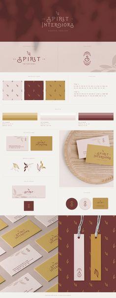 Premade Branding & Logo Design by Leanne Williamson Brand Identity Design, Identity Branding, Branding Design, Logo Design, Graphic Design, Business Branding, Visual Identity, Web Design Studio, Font Names