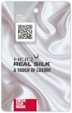 HeiQ Real Silk – A Touch of Luxury North Face Logo, The North Face, Touch, Silk, Learning, Luxury, Logos, T Shirt, Supreme T Shirt