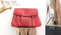 Garderoben-Zaunpfahl für Taschen, Jacken & Co {Upcycling}