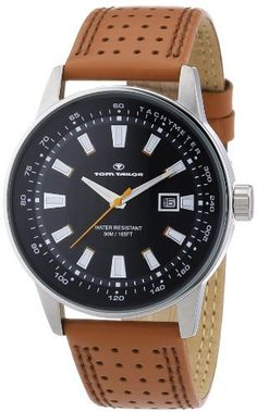 Tom Tailor Men's Quartz Watch 5411502 with Leather Strap