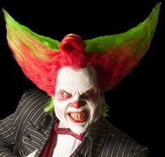 Eddie de clown. Echt een coole clown die ook nog eens Eddie heet!