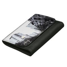 Wallet photograph of city the night women& wallets - photography gifts diy custom unique special Photography Essentials, City Photography, Black And White City, Black White Fashion, Photos Originales, Photographer Gifts, Wallets For Women, Photo S, Women's Wallets