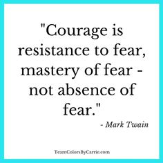 Mark Twain on #Courage
