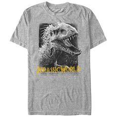 52c6a652c98a81 Jurassic Park Da Man Red T-Shirt Jurassic World Shirt