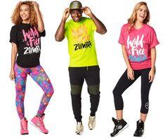 Zumba Fitness Workout tee with Fashion Print