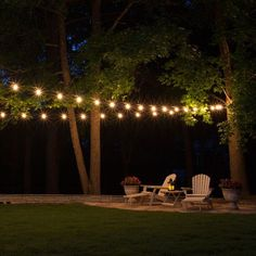 Patio string lights offer something for everyone! Shop quick with patio light kits or create your own lighting with DIY patio bulbs and stringers!
