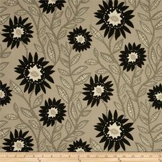 Premier Prints Fenton Onyx/Natural from @fabricdotcom  Screen printed on cotton duck; this versatile medium weight fabric is perfect for window accents (draperies, valances, curtains and swags), accent pillows, duvet covers and upholstery. Create handbags, tote bags, aprons and more. *Use cold water and mild detergent (Woolite). Drying is NOT recommended - Air Dry Only - Do not Dry Clean. Colors include black, natural and grey.