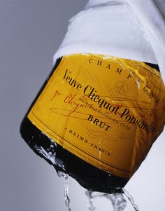 Veuve Clicquot - just the best as far as we are concerned!