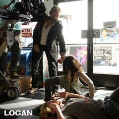 Logan BTS Photos