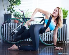 YoGoGirls — YOGOGIRLS STRETCHES FOR CYCLISTS 1. The Fold Over...