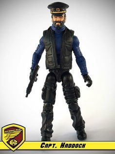 Capitaine Haddock - G.I. Joe & Cobra customs :: Comic Crossover