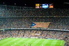Les imatges del clam per la independència que la televisió no va ensenyar Fc Barcelona, Barcelona Futbol Club, Barcelona Football, Image Cat, Camp Nou, Clams, Football Team, Puerto Rico, Architecture