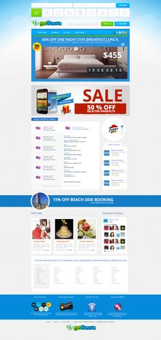 """""""Go Sawa is a Online Shopping Store""""  We create a new website design for this company using latest web trends and standards. Please look at this and write few lines of feedback. Visit: http://mindlogicsinc.com/"""