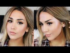 Glowing Dewy Foundation Routine   Dry Winter Skin Fix! - YouTube   Alexandrea Garza